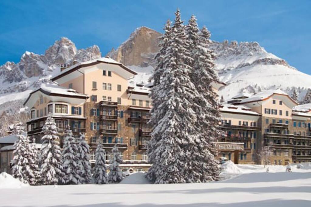 Appartamento al Grand Hotel Carezza, Dolomiti.
