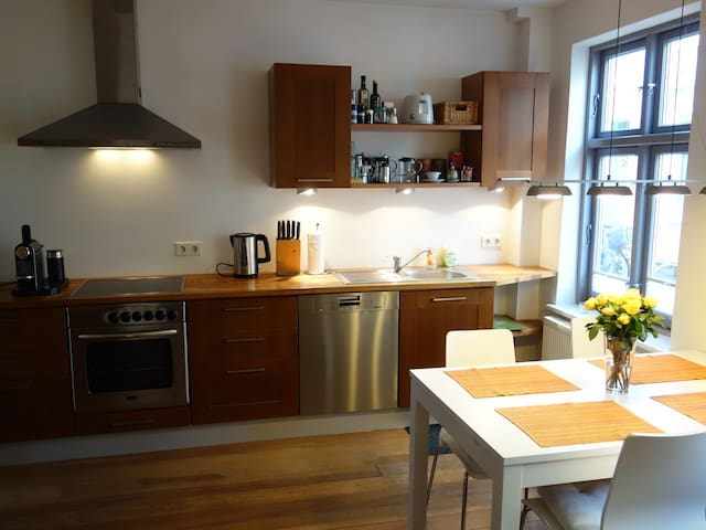 Delightful sunny apartment inLübeck - Lübeck - Appartement