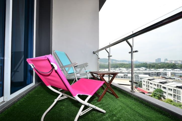 S2A Sky.Pod Puchong | 10Min To Sunway 蒲种市中心民宿公寓