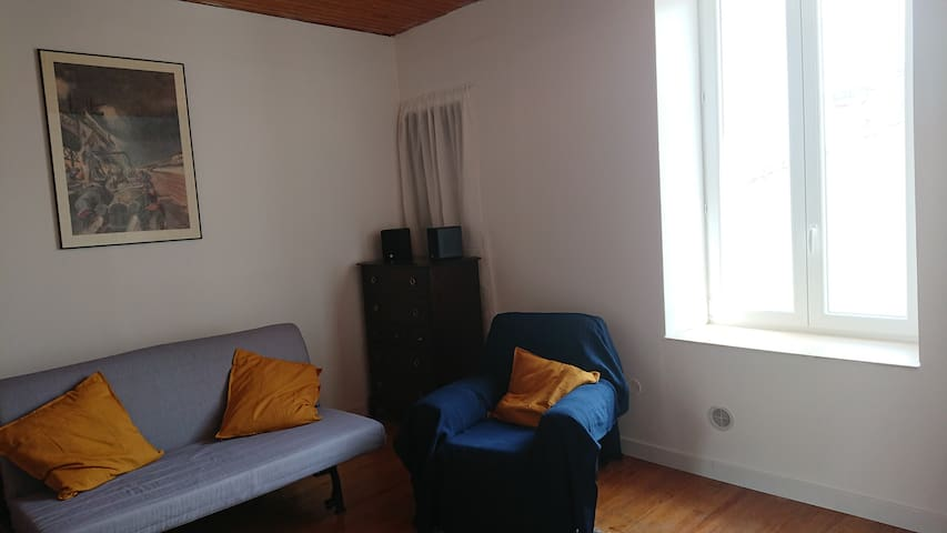 Newly renovated apartment near Canal de Garonne
