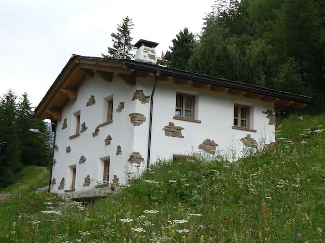 Baita tipica, vicino a Bormio - Bormio - House