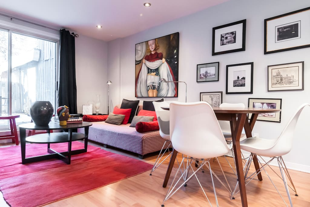 Cosy 3bed With Garden East Downtown Apartments For Rent In Montreal Quebec Canada