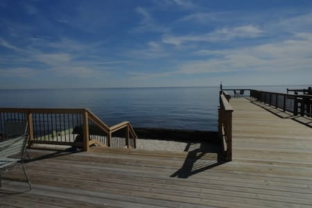 waterfront on the Delaware Bay NJ - Maurice River - Casa