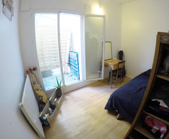 Ground floor flat with awesome garden