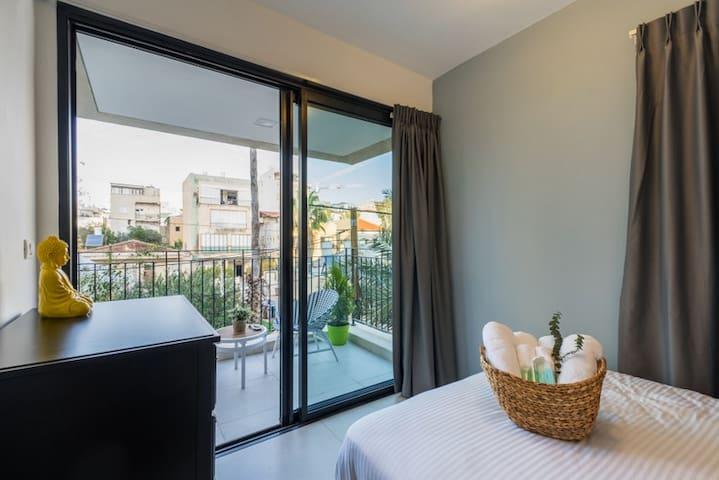 bedroom 3 + balcony