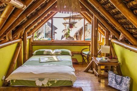 Bamboo Beach Paradise - Teahupo'o - Mompiche - Hus