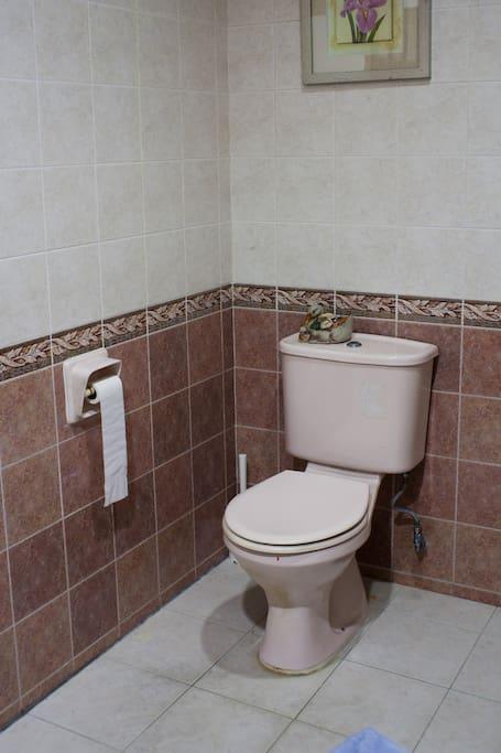 Huge bathroom for you:)