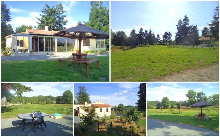 SUPERBE GITE EN VENDEE - Mareuil-sur-Lay-Dissais - Casa