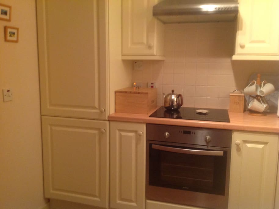 Part of our modern fitted kitchen