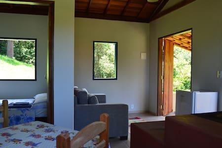 Chalés Serrinha do Papagaio  - Aiuruoca - Dağ Evi