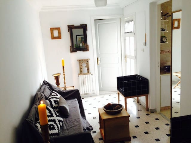 Charming flat City Center & terrace - Tunis - Appartement