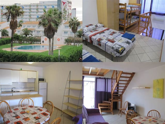 Flat for 4-6p. next to Ushuaia Ibiza beach club - Ibiza - Leilighet