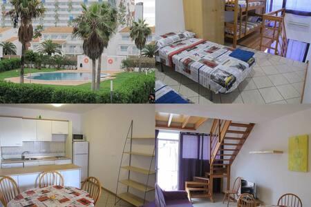 Flat for 4-6p. next to Ushuaia Ibiza beach club - Ibiza - Leilighet