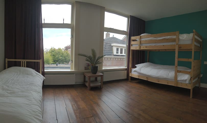 Shared room in the centre of Leiden (3-bed dorm)
