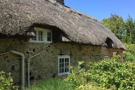 Beautiful thatched family cottage