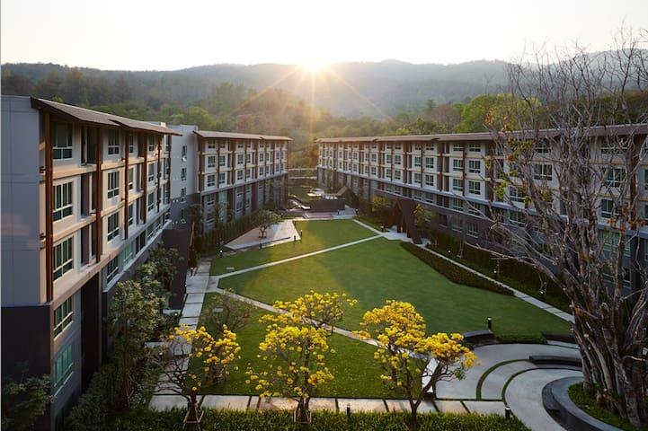 Beautiful quiet Condo DoiSutep view - Chiang Mai