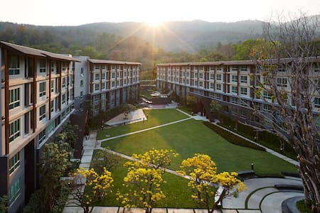 Beautiful quiet Condo DoiSutep view - Chiang Mai