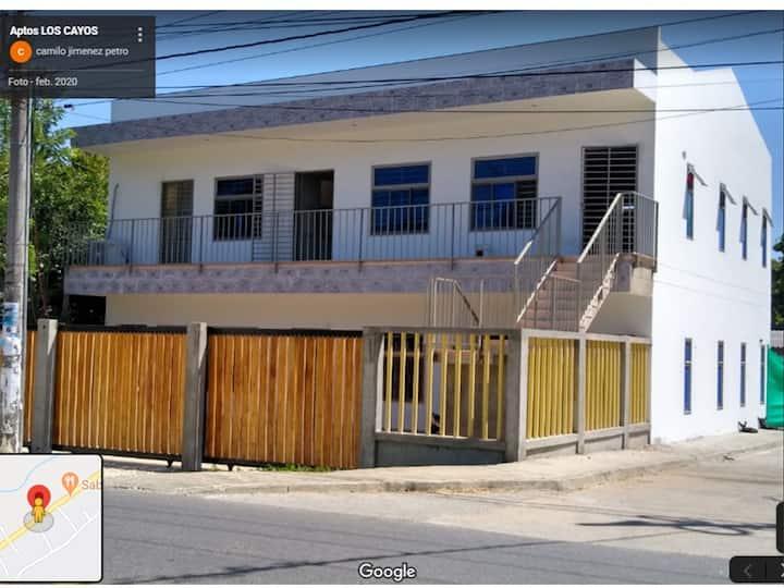 Apartamento B - Los Cayos, Coveñas.