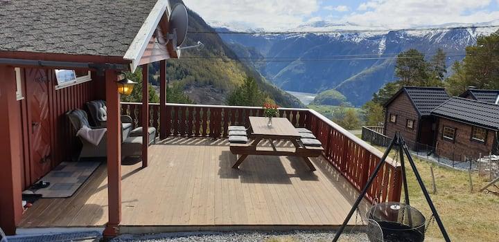 Hytte ved Stegastein/ Cabin 500 m from Stegastein