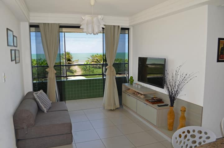 Oceanfront Condo at calm and beautiful beach