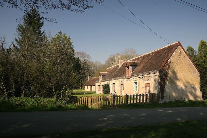 À l'orée du bois maison de campagne - Saint-Jean-Froidmentel - 단독주택