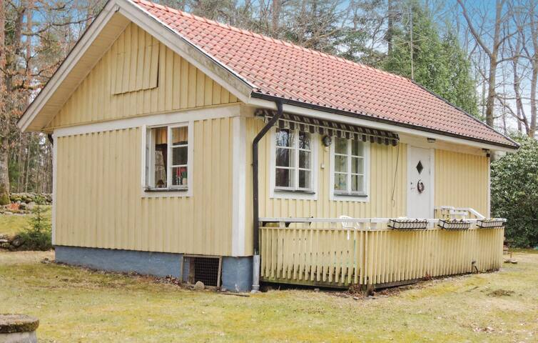 Holiday cottage with 2 bedrooms on 55m² in Våxtorp