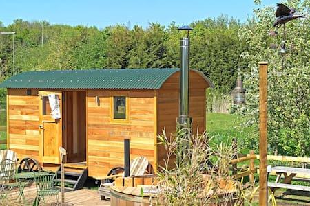 Jeremy Fisher Shepherds Hut at Barnacles
