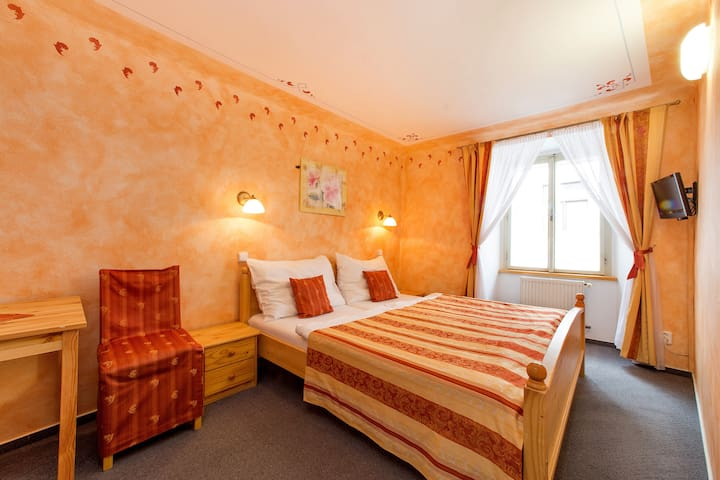 Double room with tube - Český Krumlov - Appartement