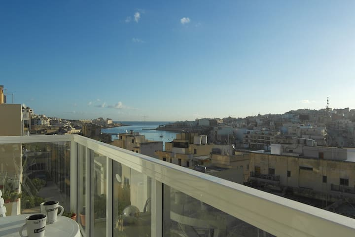 Central & Views - Marsaskala - Wohnung