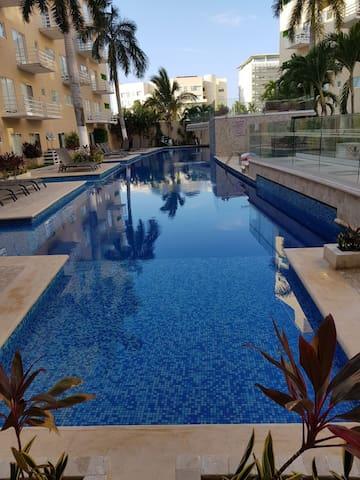 Departamento en Acapulco Diamante súper ubicado !!