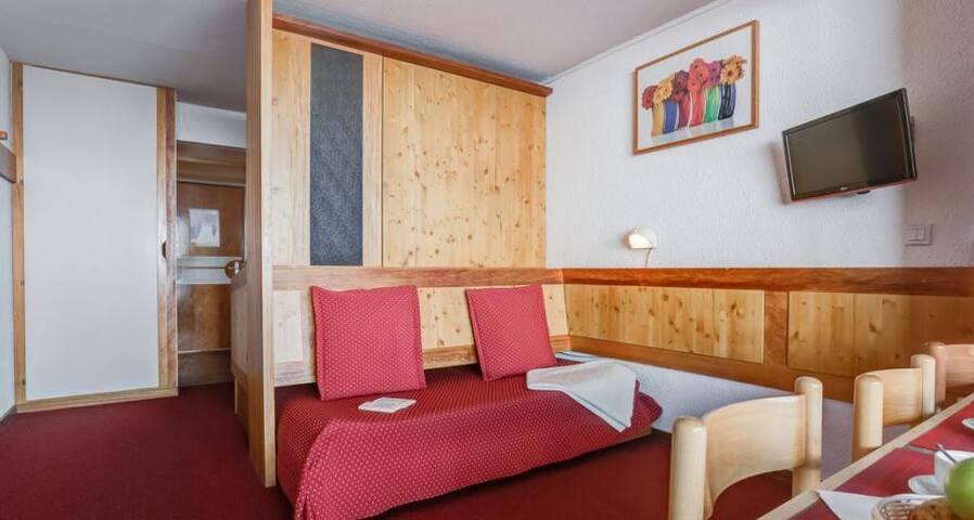 Un vrai lit double coulissant !