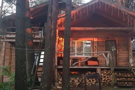 Романтичный домик в лесу