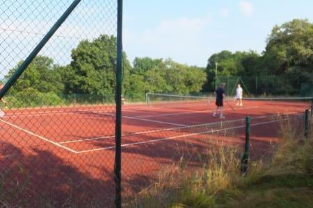 IN NATUURPARADIJS met  tennisbaan en zwembad - Crux-la-ville - Talo