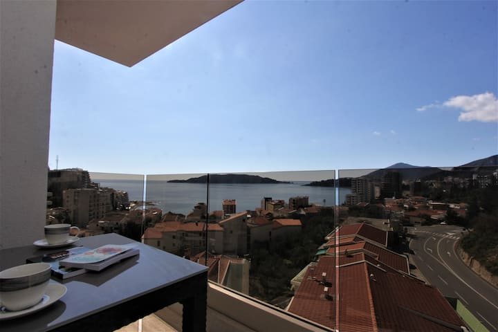 Luxury 3 BR Apartment in Rafailovici