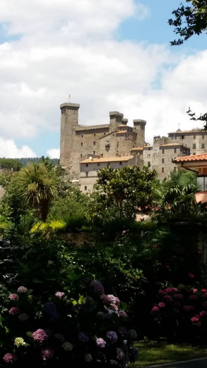 Casa indip. in borgo medioevale