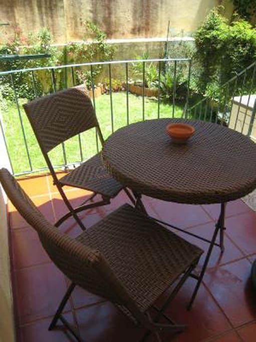 Terrace privée