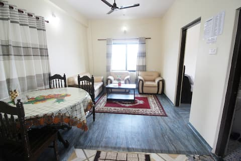 1st floor Backside-fully furnished-2BHK apartment.