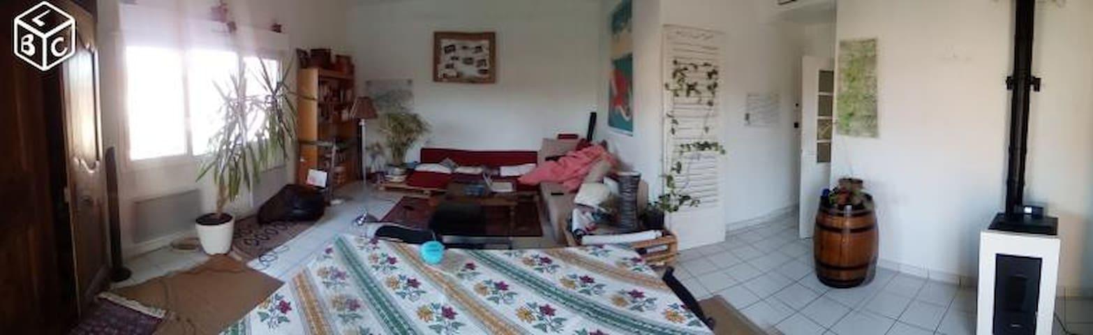 Chambre pour 2 dans Maison Sympa (E) - Clermont-Ferrand - House