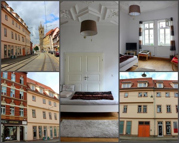 Tolle Altstadt-Wohnung in denkmalgeschützem Haus