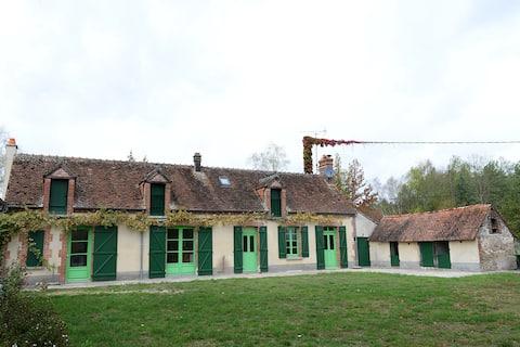 Gîte de Longuenoue 1 2 3 Sologne Olivier