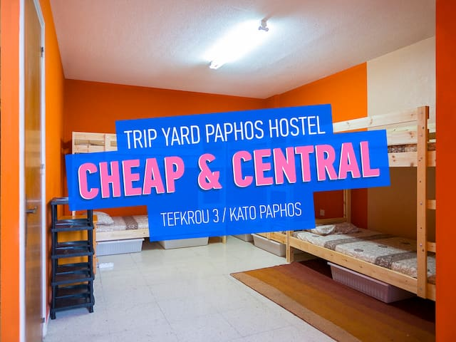 Downtown Hostel near the sea and bar area / 6bed