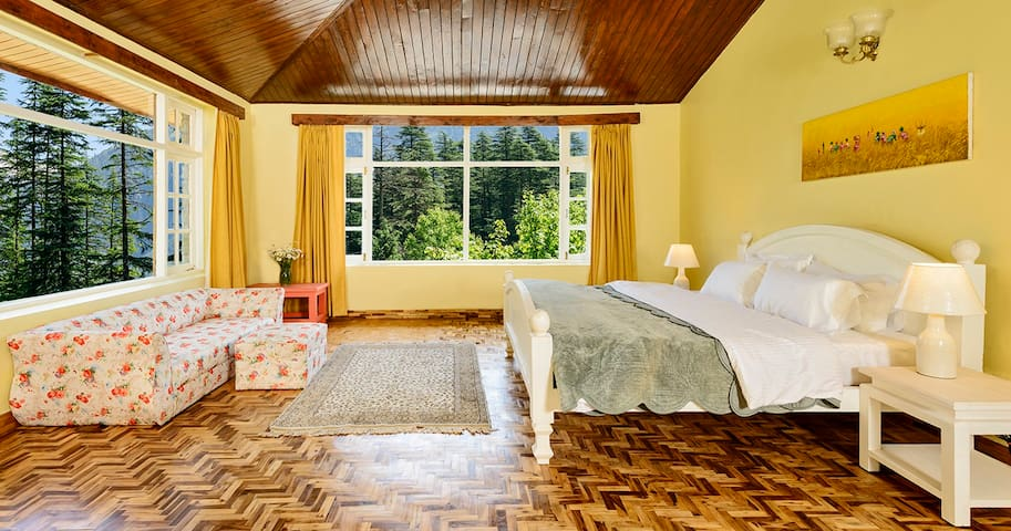 THE DUFFDUN HOUSE room no.5 family suite - Manali - Villa