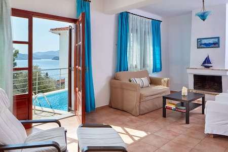 Villa Aphrodite with private swimming pool - Χόρτο