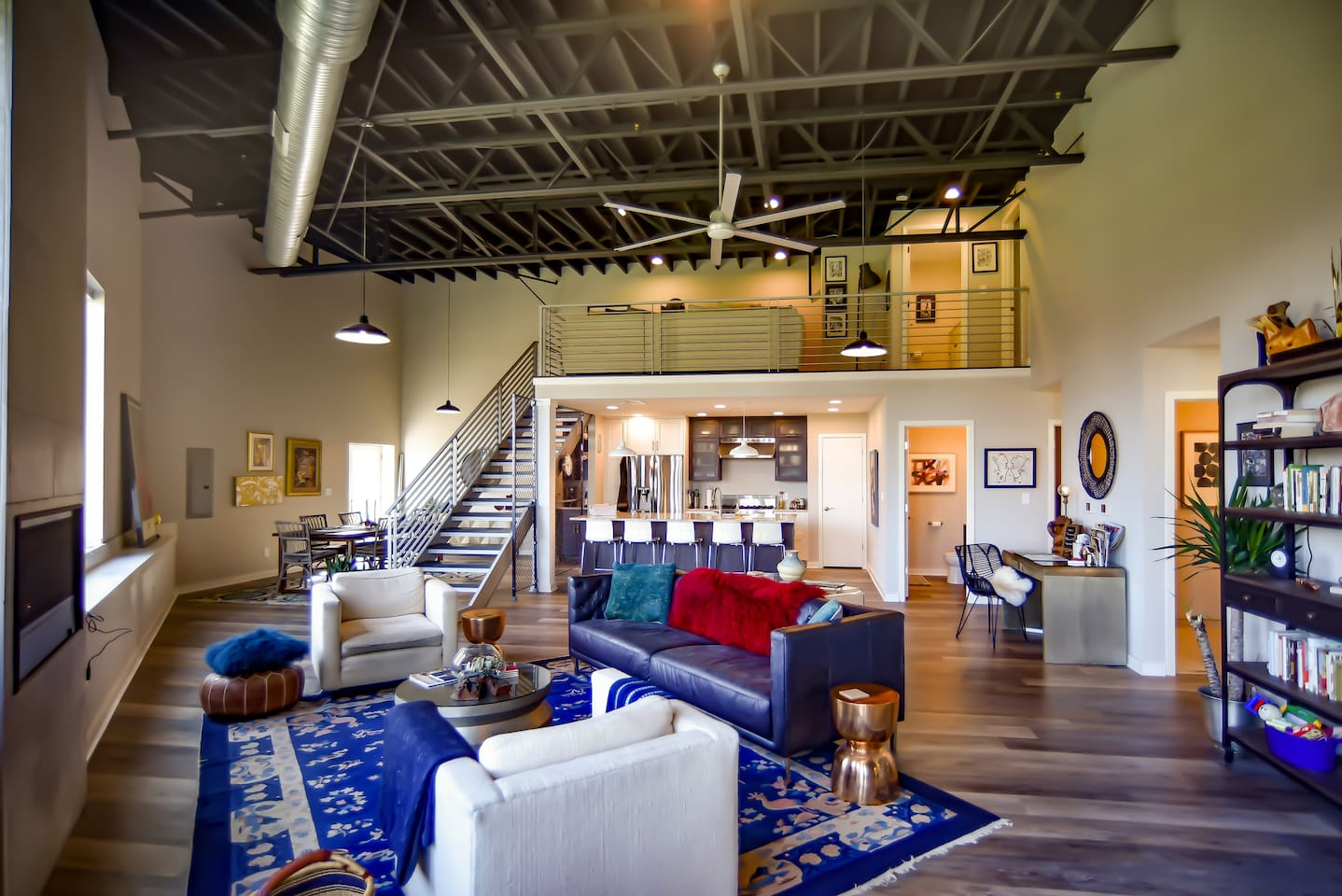 metropolitan luxury loft with skyline view houses for rent in