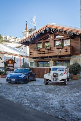 Chalet François-incl breakfast, spa, daily cleanin - Breuil-Cervinia - House