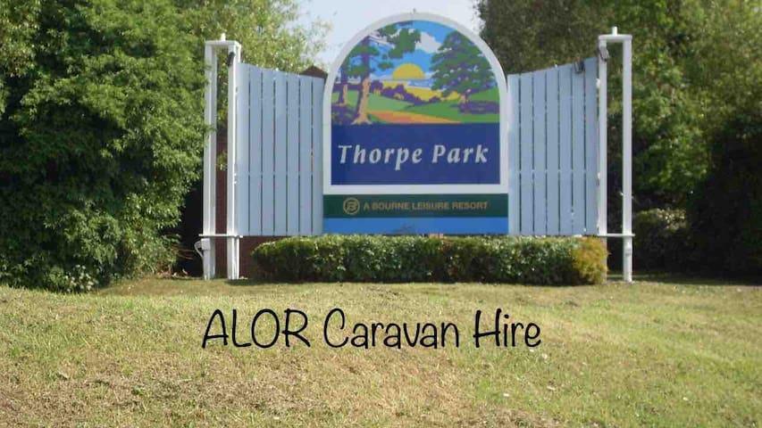 ALOR Caravan Hire Thorpe Park