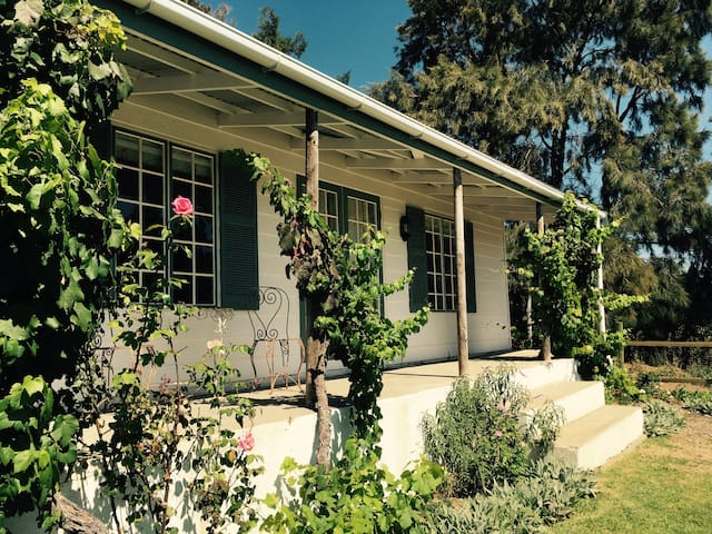 Kiku Cottage on Cheverells Farm-countryside bliss! - Grabouw - Blockhütte