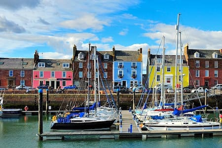 Harbour Haven 3, Historic Landmark Apartment - Arbroath - 公寓