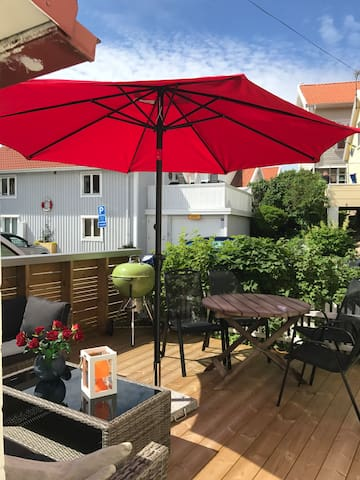 Nyrenoverad villa vid Smögenbryggan
