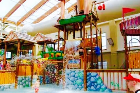 1 BD w Kitchen Dollywood TN INDOOR Water Park - Sevierville - Pis